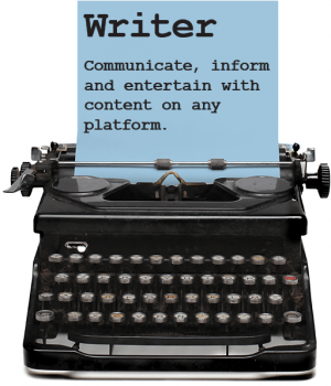 WRITER Communicate, inform and entertain with content on any platform.